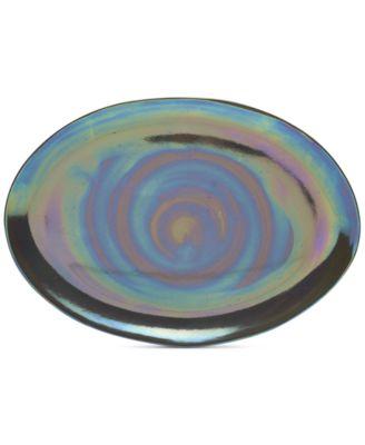 Coronado Graphite Boxed Oval Platter