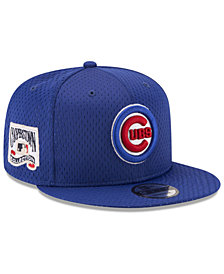 New Era Chicago Cubs Coop Mesh Authentic 9FIFTY Snapback Cap