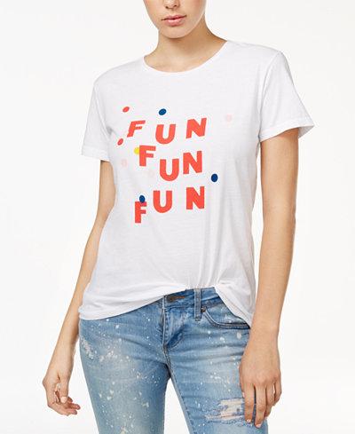 ban.do Cotton Fun Fun Fun Graphic T-Shirt