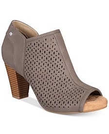 Giani Bernini Angye Memory Foam Perforated Peep-Toe Shooties, Created for Macy's