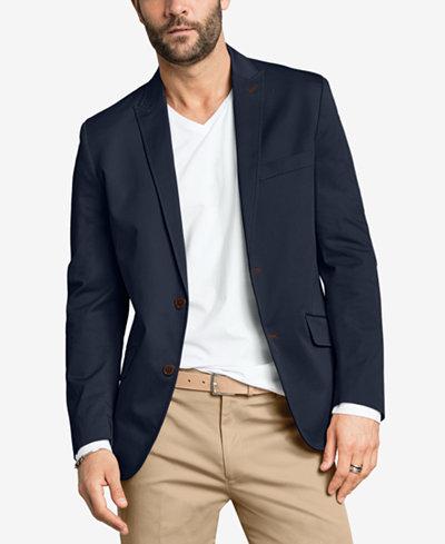 INC International Concepts Stretch Slim-Fit Blazer - Suits & Suit ...