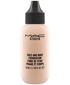 MAC Studio Face and Body Foundation, 1.7 fl oz