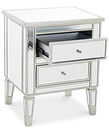 Noely 2-Drawer Table, Quick Ship
