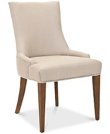 Becall 20''H Linen Dining Chair, Quick Ship