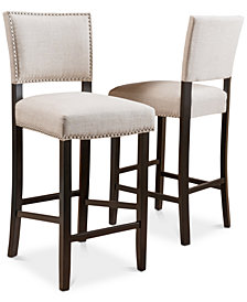Garven Bar Stool (Set Of 2), Quick Ship