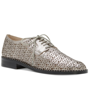 Vince Camuto Lesta Perforated Lace-Up Oxfords Women