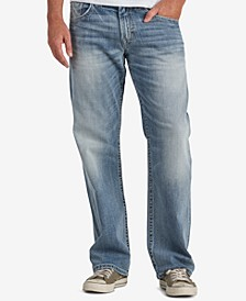 Men's Gordie Loose Fit Straight Stretch Jeans