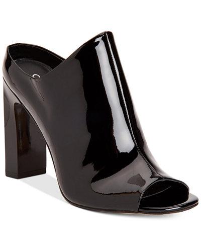 Calvin Klein Women's Maera Peep-Toe Dress Sandals