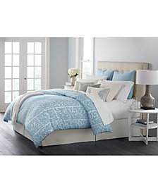 CLOSEOUT! Martha Stewart Collection Charlotte 14-Pc. Queen Comforter Set, Created for Macy's