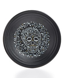 Skull and Vine Luncheon Plate