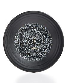 Fiesta Skull and Vine Luncheon Plate