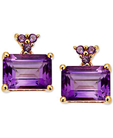 Amethyst Drop Earrings (2-1/3 ct. t.w.) in 14k Gold