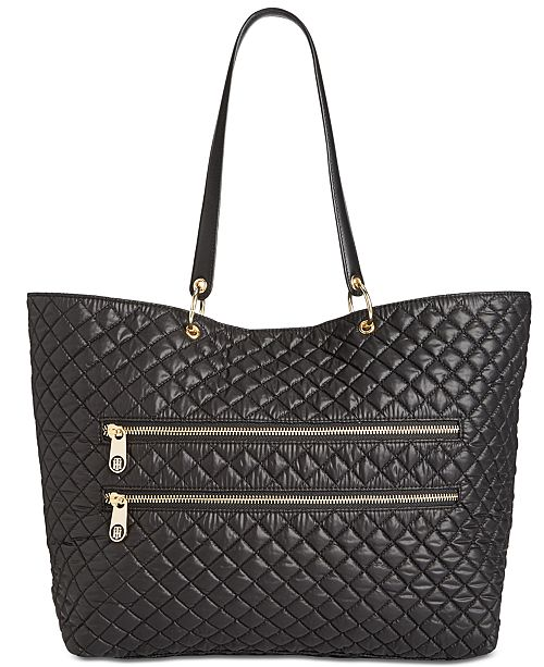1db4af5f4 Tommy Hilfiger Pauletta Quilted Extra-Large Tote & Reviews ...