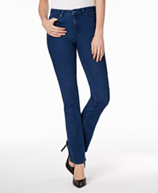 Charter Club Petite Prescott Tummy-Control Bootcut Jeans, Created for Macy's