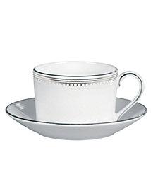 Vera Wang Wedgwood Dinnerware, Grosgrain Tea Saucer