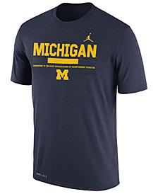 Nike Men's Michigan Wolverines Legend Staff Sideline T-Shirt
