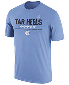 Nike Men's North Carolina Tar Heels Legend Staff Sideline T-Shirt