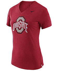 Nike Women's Ohio State Buckeyes Fan V Top T-Shirt