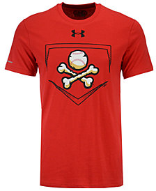 Under Armour Men's EL Paso Chihuahuas At Home Logo Charged Cotton T-Shirt