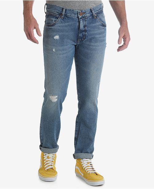 Mens Larston Tapered Slim Jeans Wrangler eUKuJIu