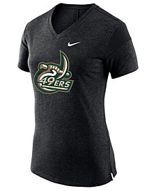 Nike Women's Charlotte 49ers Fan V Top T-Shirt
