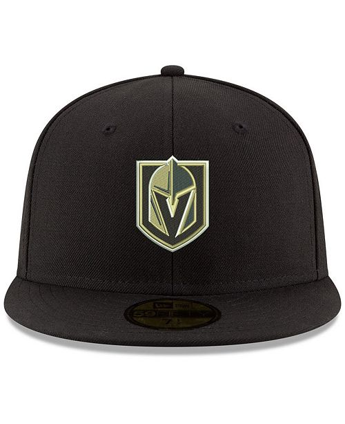 New Era Vegas Golden Knights Basic 59FIFTY Cap - Sports Fan Shop By ... a4f51731c16