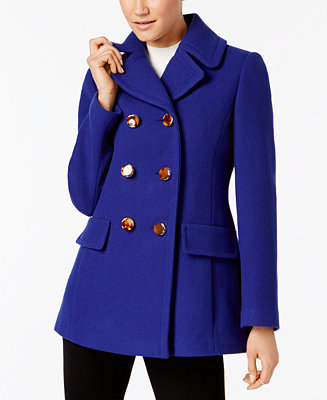 Kate Spade New York Bow Back Peacoat Coats Women Macy S