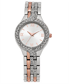 Charter Club Women's Two-Tone Bracelet Watch 29mm, Created for Macy's