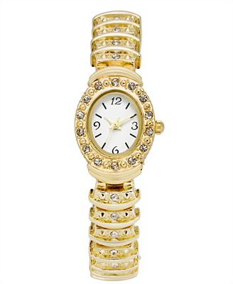 Charter Club Women's Gold-Tone Bracelet Watch 28mm, Created for Macy's
