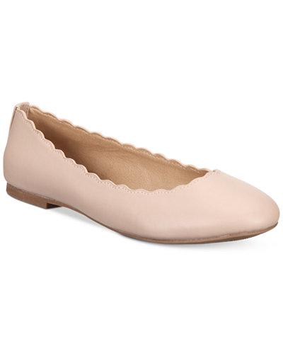 Esprit Odette Scalloped Ballet Flats