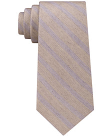 Calvin Klein Men's Washed Stripe Tie