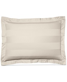 Ivory Stripe Standard Sham, 100% Supima Cotton 550 Thread Count, Created for Macy's