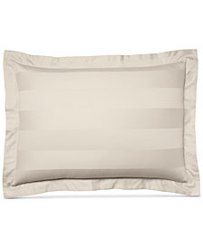 Charter Club Damask Stripe King Sham, 100% Supima Cotton 550 Thread Count, Created for Macy's