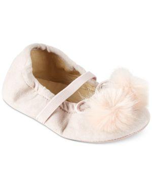 Sam Edelman Felicia Pom-Pom Flats, Baby Girls thumbnail