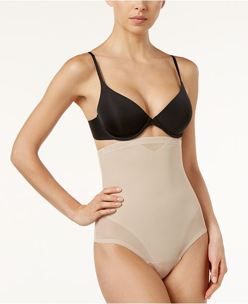 1895afc6e0dfa Miraclesuit Women s Extra Firm Tummy-Control High-Waist Sheer Thong 2778 ...