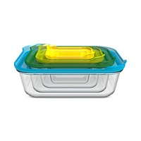 Deals on Joseph Joseph 8-Pc. Nesting Glass Container Set