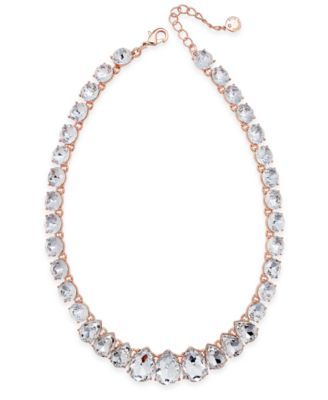 Image of Charter Club Crystal Collar Necklace, Created for Macy's