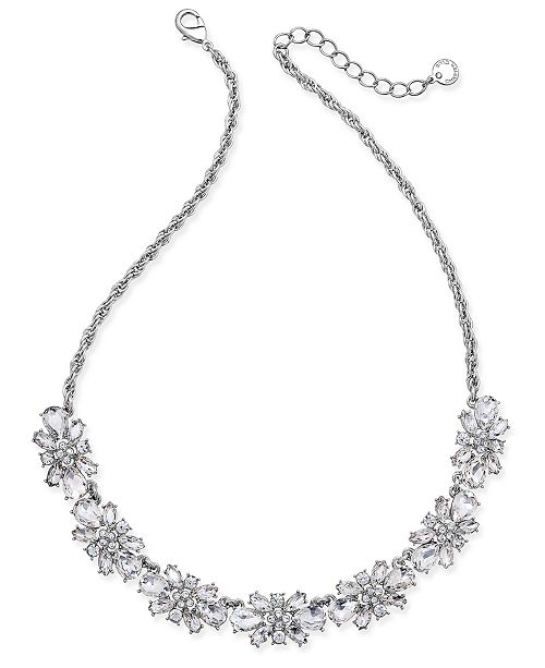 44f8ab7f5 ... Charter Club Clear & Colored Crystal Necklace, Created for Macy's ...