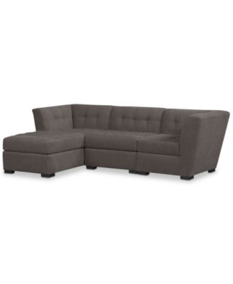 Roxanne Fabric 3 Piece Modular Sectional Sofa, Created For Macyu0027s