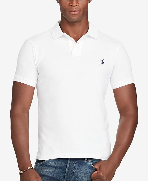 f5da245541346 Polo Ralph Lauren. Men s Slim-Fit Cotton Mesh Polo Shirt. 511 reviews. main  image