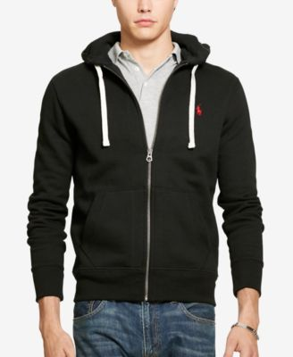 Black jacket with zip