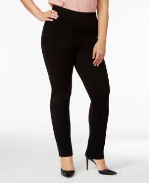 Hue Women's Plus Size Little Black Treggings 4822926