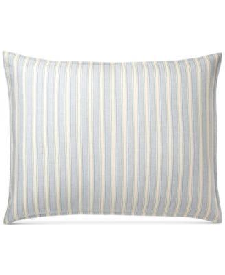 Graydon Cotton Bold Stripe Standard Sham