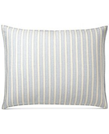 Graydon Cotton Bold Stripe King Sham