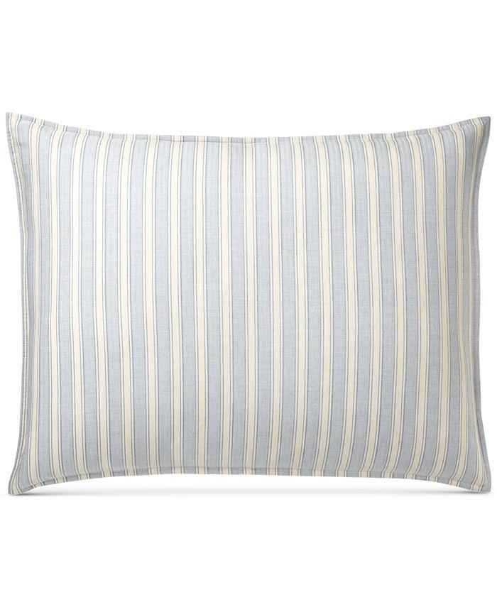 Lauren Ralph Lauren - Graydon Cotton Bold Stripe Standard Sham