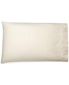Graydon Cotton Shirting Stripe Pair of King Pillowcases