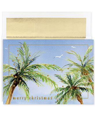Masterpiece christmas palms set of 18 boxed holiday greeting cards masterpiece christmas palms set of 18 boxed holiday greeting cards with envelopes m4hsunfo