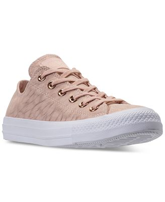 Converse Women's Chuck Taylor Ox Shimmer Casual Sneakers from Finish Line
