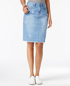 Denim Skirts Knee Length Skirts: Shop Denim Skirts Knee Length ...