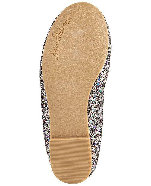 d3b588a9f3443 Sam Edelman Felicia Glitter Ballet Flats